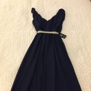 Gorgeous Midnight Blue Evening Dress